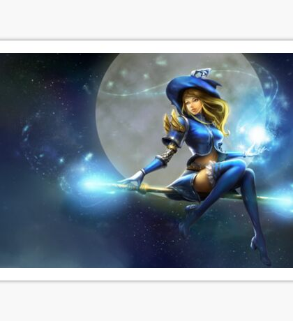League of legends: Lux Sticker