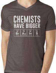 Chemists have bigger brains Mens V-Neck T-Shirt
