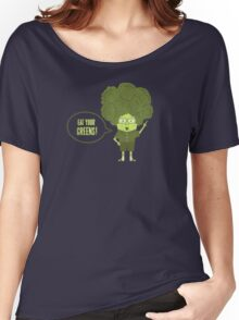 Disgusting Broccoli  Women's Relaxed Fit T-Shirt