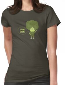 Disgusting Broccoli  Womens Fitted T-Shirt