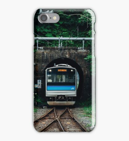 Tunnel Train iPhone Case/Skin