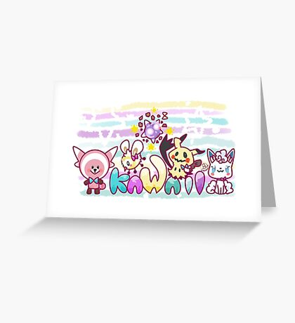 A-Kawaii Greeting Card