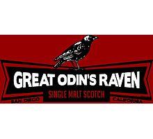 Great Odin's Raven! Single Malt Scotch Photographic Print