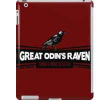 Great Odin's Raven! Single Malt Scotch iPad Case/Skin