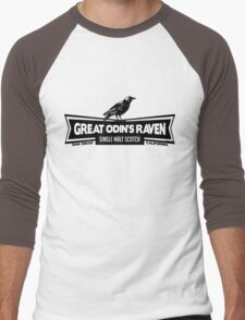 Great Odin's Raven! Single Malt Scotch Men's Baseball ¾ T-Shirt