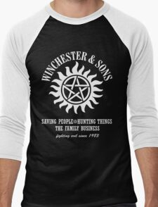 SUPERNATURAL WINCHESTER & SONS t-sHIRT Men's Baseball ¾ T-Shirt