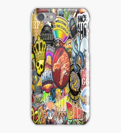 CSGO Stickerbomb iPhone Case/Skin