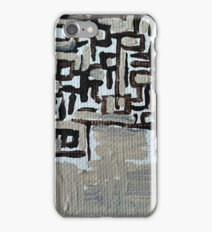 The End of the Maze iPhone Case/Skin