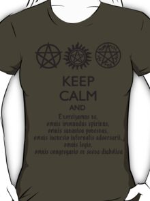 SUPERNATURAL - SPEAKING LATIN T-Shirt
