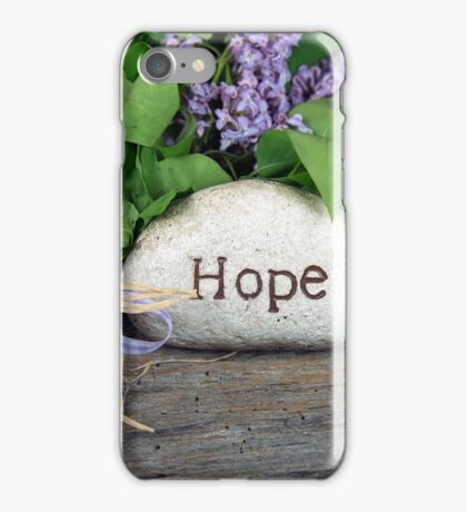 Hope and Lilacs  iPhone Case/Skin