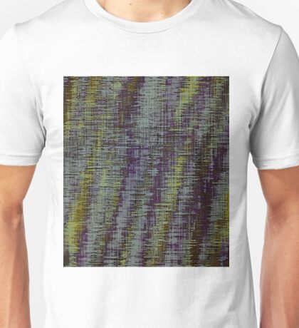 yellow blue and brown painting texture abstract background Unisex T-Shirt