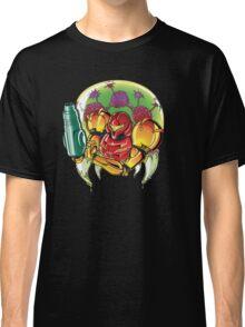 Samus Aran Bounty Hunter (Varia) Classic T-Shirt