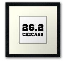 Marathon City Chicago Framed Print