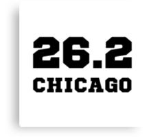 Marathon City Chicago Canvas Print