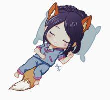 Sleepy Kitsune Kids Clothes