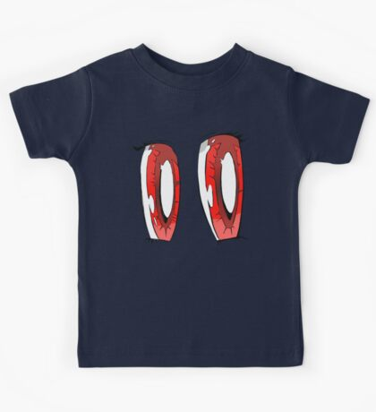Sparkly Anime Eyes Kids Tee