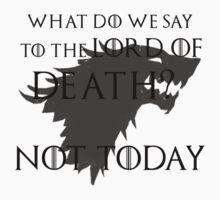 Lord of Death... not today T-Shirt