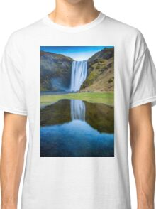 Iceland Skógafoss Classic T-Shirt