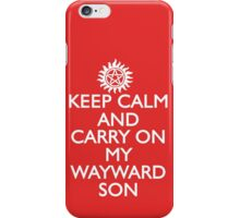 SUPERNATURAL SAM AND DEAN WINCHESTER iPhone Case/Skin