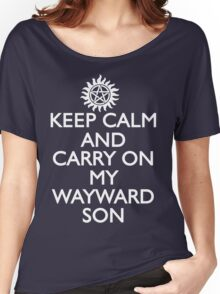 SUPERNATURAL SAM AND DEAN WINCHESTER Women's Relaxed Fit T-Shirt