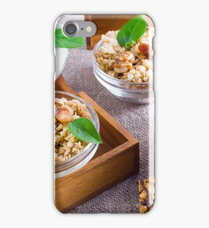 Healthy foods for breakfast iPhone Case/Skin