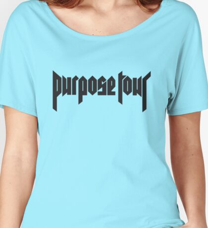 purpose tour Women's Relaxed Fit T-Shirt