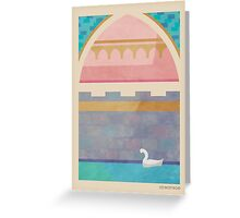 Upon a Dream Greeting Card