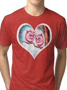 Little Love Monsters - Valentine's Day Tri-blend T-Shirt