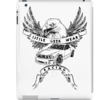 Little Geek Wear Racing iPad Case/Skin