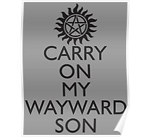 SUPERNATURAL SAM AND DEAN WINCHESTER Poster