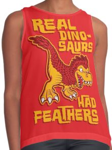 Real dinosaurs had feathers Contrast Tank