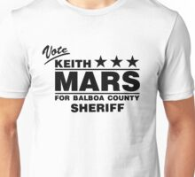 Keith Mars for Sheriff (Black) Unisex T-Shirt
