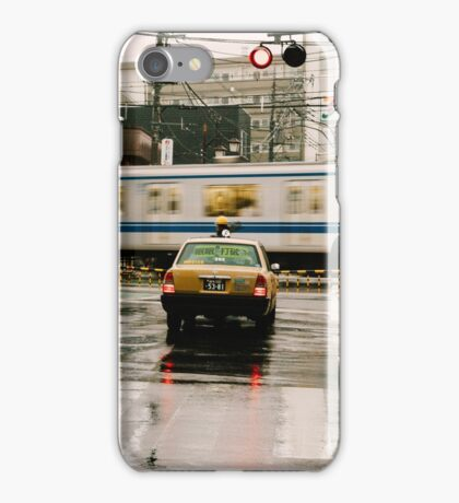 Rainy Day in Tokyo iPhone Case/Skin