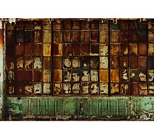 The Rust Wall Photographic Print
