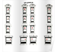 Led Zeppelin Physical Frames Poster