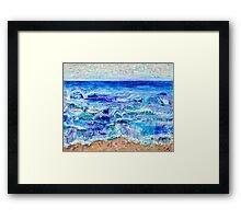 Betwixt Sand and Sky Framed Print