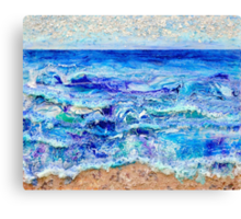 Betwixt Sand and Sky Canvas Print