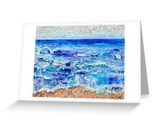 Betwixt Sand and Sky Greeting Card