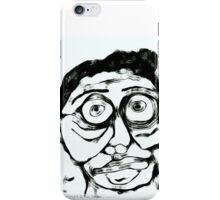 A Man in Abstract iPhone Case/Skin