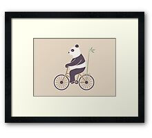 My Bamboo Bicycle Framed Print