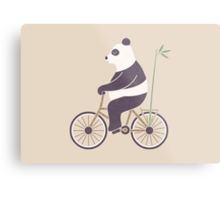My Bamboo Bicycle Metal Print