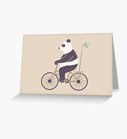 My Bamboo Bicycle Greeting Card