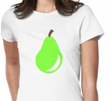 Green pear Womens Fitted T-Shirt