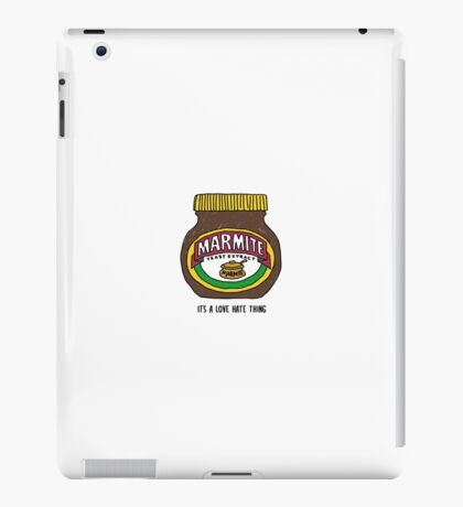 It's a love hate thing iPad Case/Skin