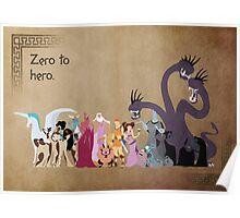 Hercules inspired design. Poster
