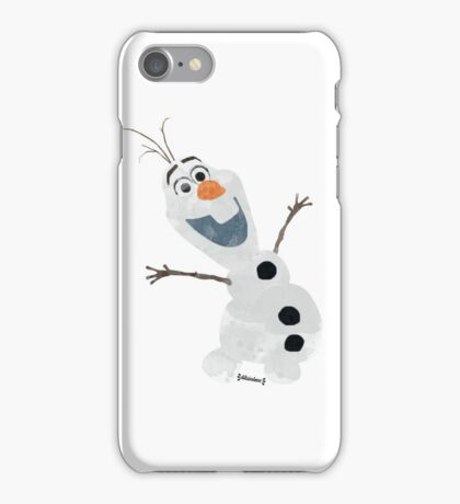 Watercolor Olaf iPhone Case/Skin