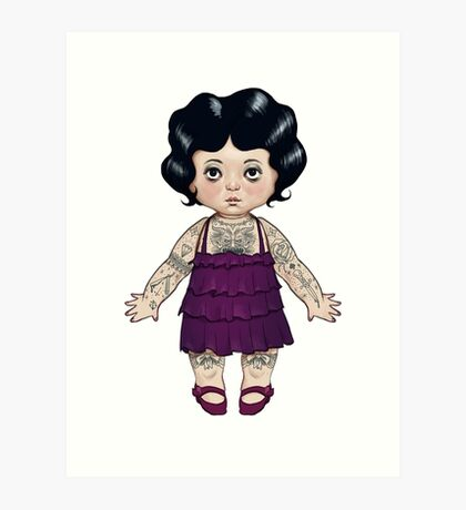 Dollie Art Print