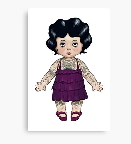 Dollie Canvas Print