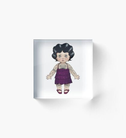 Dollie Acrylic Block