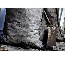 Sack Of Coal............... Photographic Print
